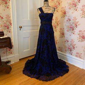 Beautiful Formal Silk Prom Dress